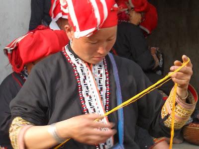 Affiche culturelle Sapa (Vietnam)