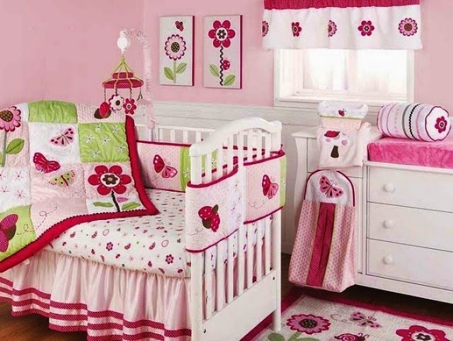 painting ideas for baby girl room