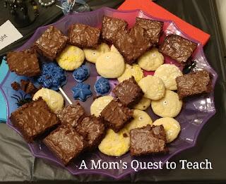 brownies and cookies