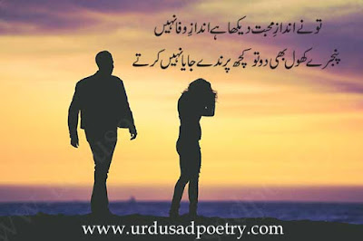 Tu Ne Andaz-E-Mohabbat Daikha Hay, Andaz-E-Wafa Nahi