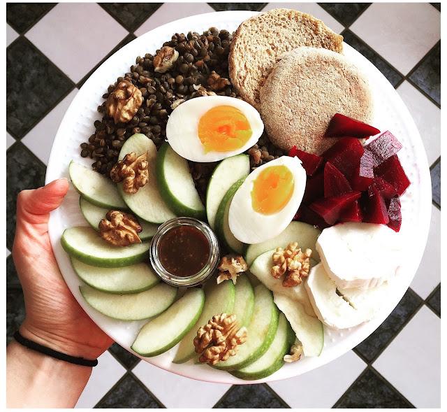 assiettes veggie - oleagineux