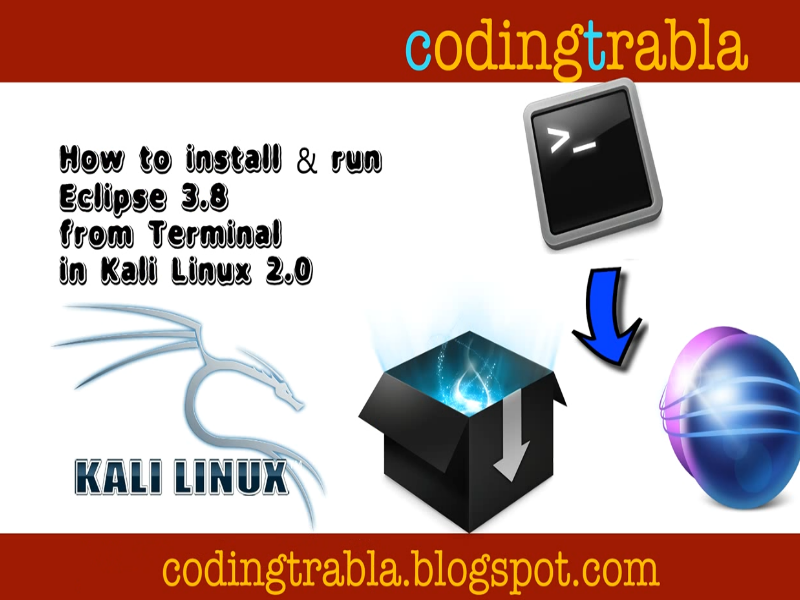 install eclipse ide on kali linux