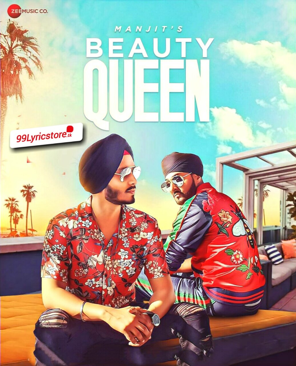 Beauty Queen Lyrics Manj Musik and Manjit Singh