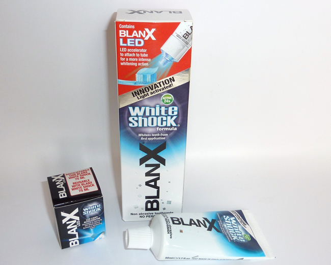 Sophie Jenner Blanx Teeth White Shock Review