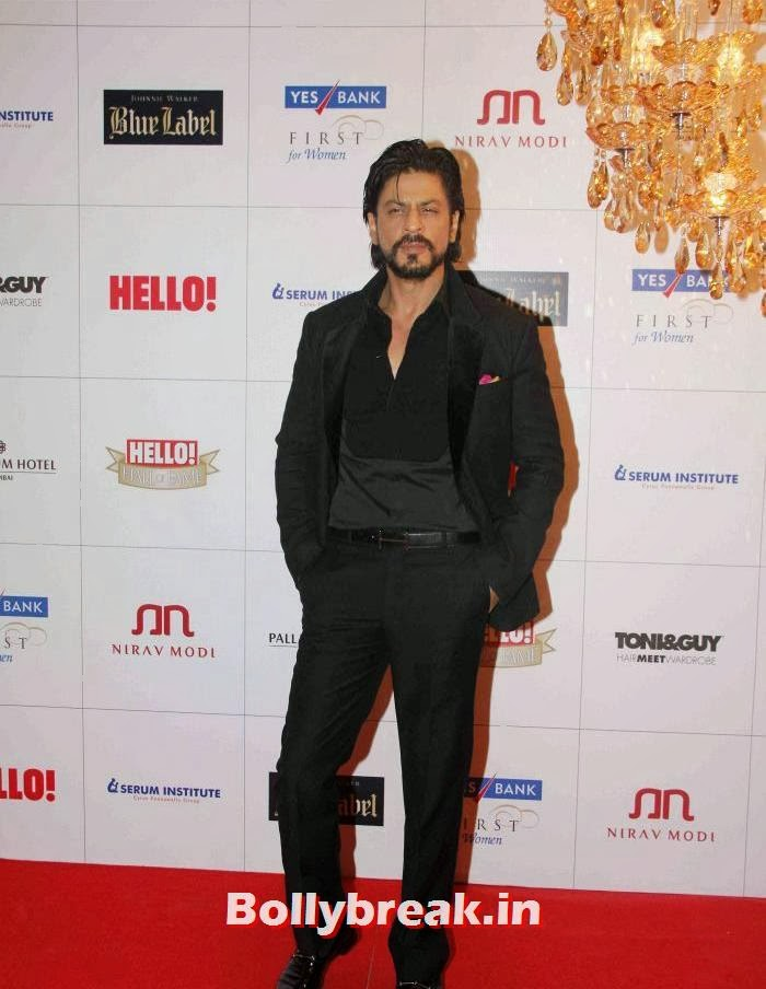Shahrukh Khan, Hello Awards 2013 Pics