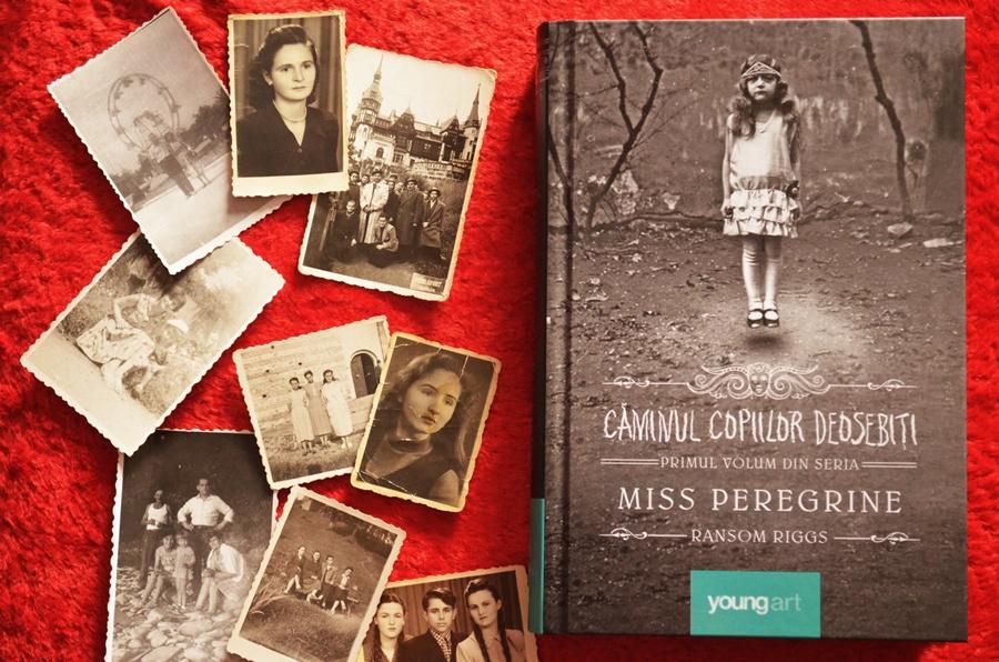 carte miss peregrine caminul copiilor deosebiti ransom riggs fotografii