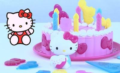 Permainan Memasak Kue Ulang Tahun Hello Kitty