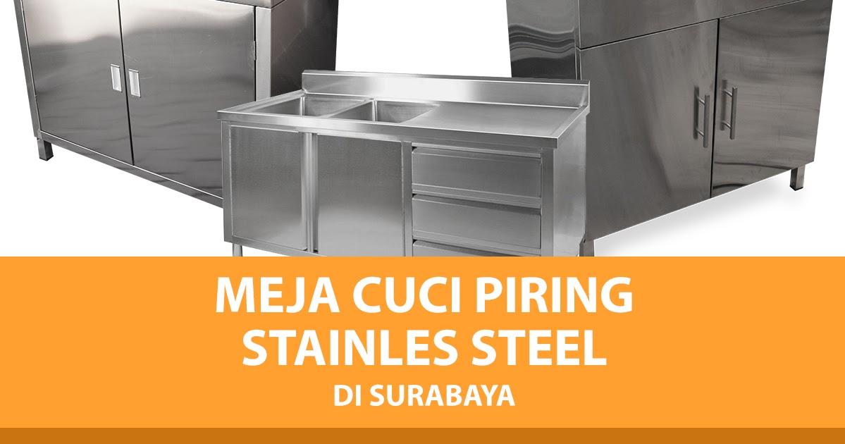 Harga Tempat Cuci Piring Stainless Surabaya