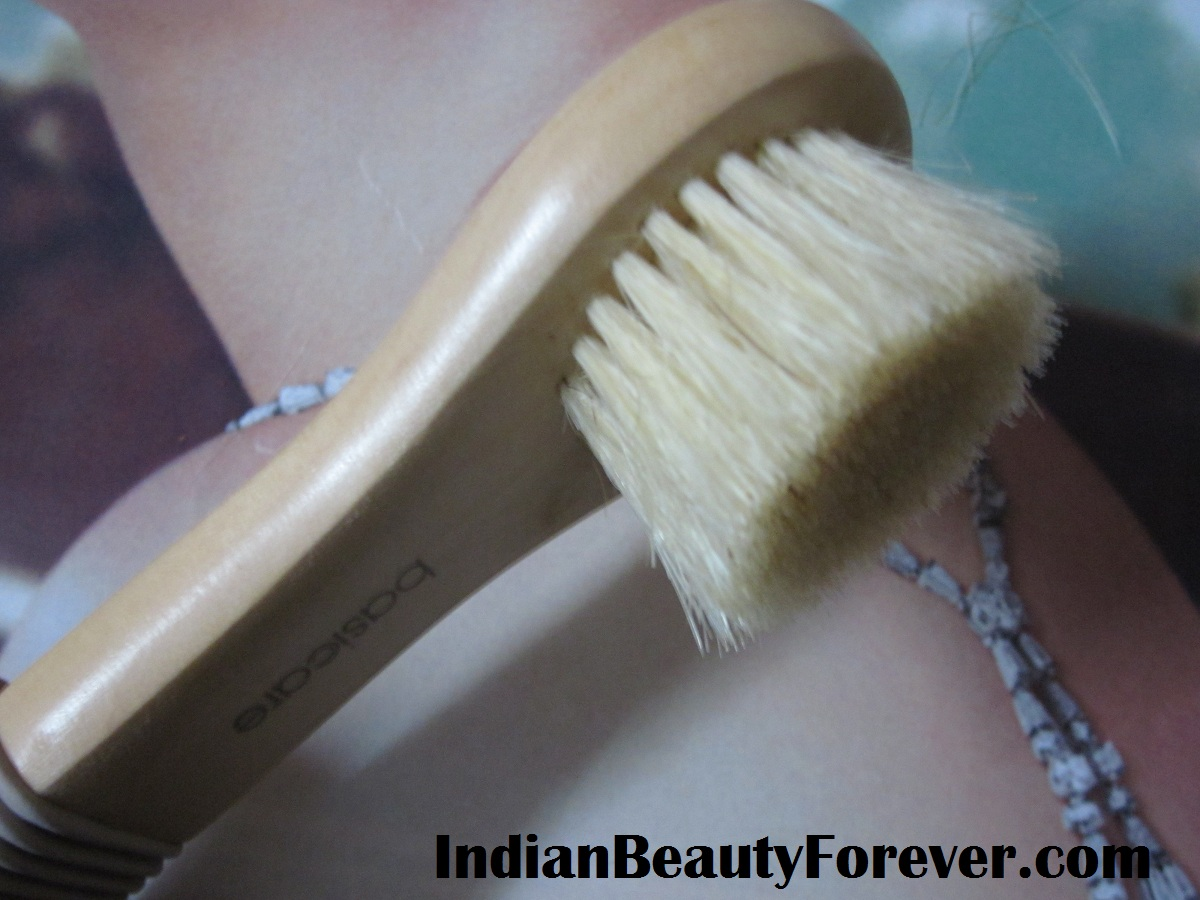 Basicare complexion Massage Cleansing Brush Review and photos