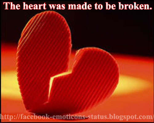 how to make a big heart on fb