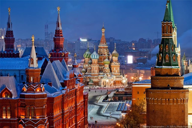 Fully funded experience in Russia