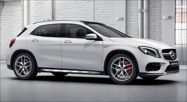 Mercedes AMG GLA 45 4MATIC 2019 là chiếc xe SUV 5 chỗ được thiết kế đậm chất thể thao