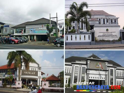 Alamat Samsat di wilayah Bandung dan Cimahi