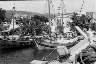 Αποτέλεσμα εικόνας για παλιες φωτογραφιες σκιαθος,σκοπελος