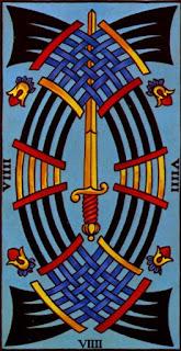 le neuf d'épée