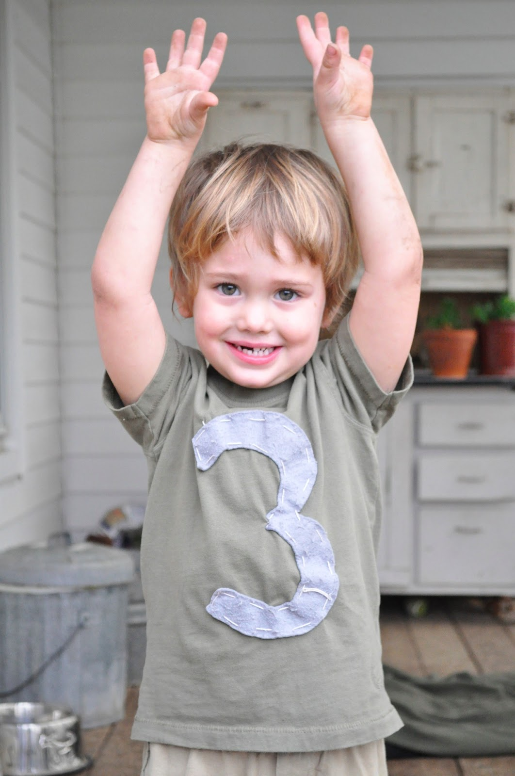 The Supermanns My 3 year old boy