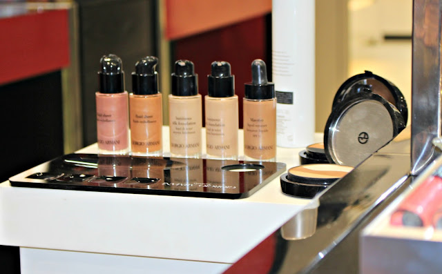 Armani makeup, armani cruise collection
