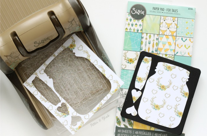 Make It Yourself: Handmade Mason Jar Shaker Card | pitterandglink.com