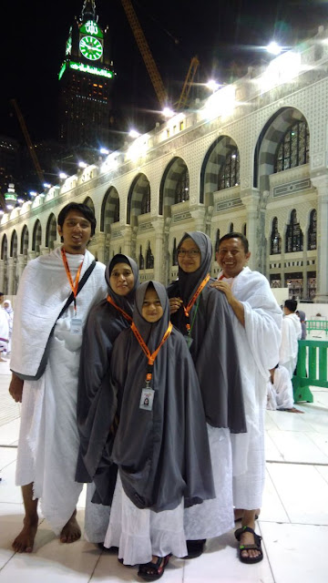 umrah bersama keluarga