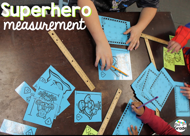 Measuring is a skill that needs to be worked on again and again, this engages the students, and keeps them on task.