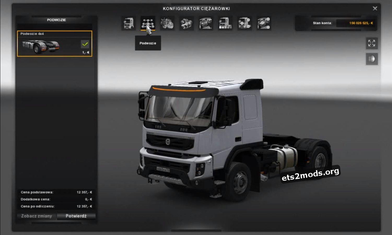 Truck - Volvo FMX 540