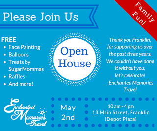 Enchanted Memories Travel - Open House - May 2