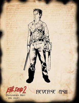 Evil Dead 2: Doppleganger Wars, Ash