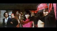 """Karin Dor mit Francisca Tu in """"Ich, Dr. Fu Man Chu"""""""