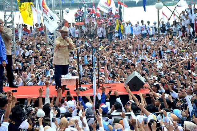 Prabowo Janji Tak Akan Perkaya Diri Jika Menang Pilpres 2019