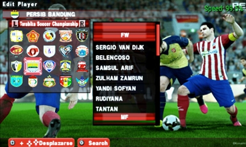 Yuk Download Save Data PES Army 2017 PPSSPP terbaru !