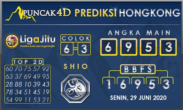 PREDIKSI TOGEL HONGKONG PUNCAK4D 29 JUNI 2020
