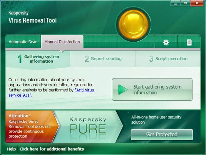 Kaspersky Virus Removal Tool 11.0.3.8 Download Free for PC