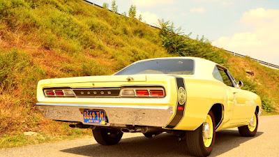 1969 Dodge Coronet Super Bee Hemi Rear Right