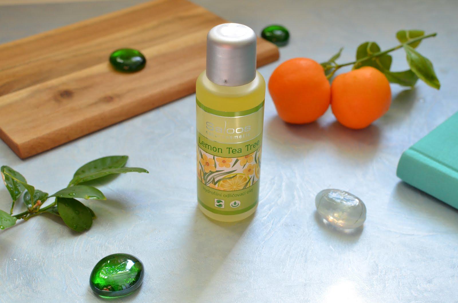 """Saloos Make-up Removal Oil Lemon Tea Tree Гидрофильное масло """"Лимонное чайное дерево"""""""