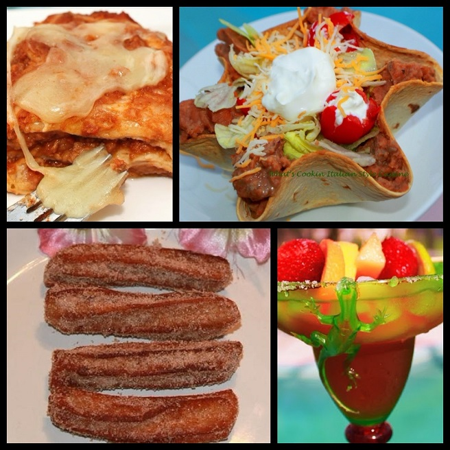 this is a collage of mexican recipes