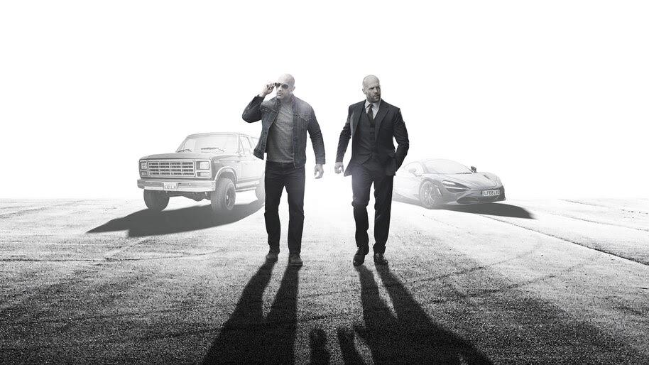 Hobbs And Shaw Dwayne Johnson Jason Statham Poster 4k