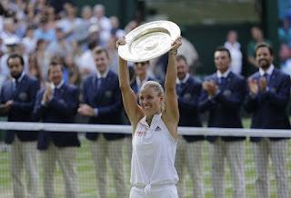 TENIS - Wimbledon femenino 2018: Primer título para Angelique Kerber en el All England Club