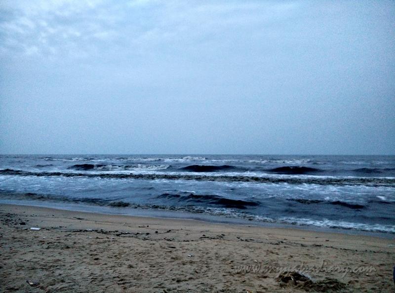 Elliot beach, Chennai, Tamil Nadu