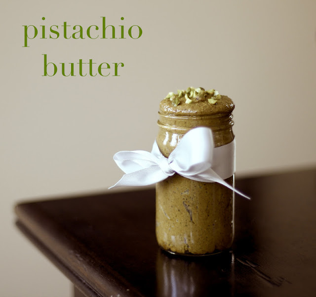 Healthy Homemade Pistachio Butter (low carb!)