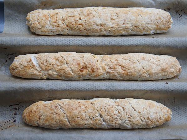 REZEPT: glutenfreies Baguette selber backen