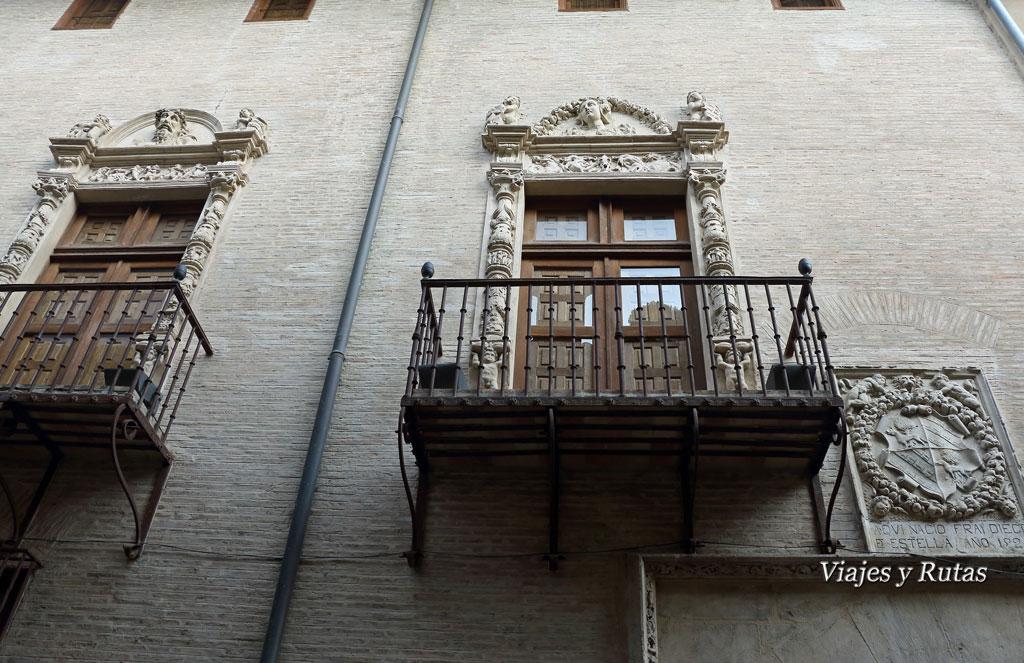 Casa de Fray Diego de Estella, Estella
