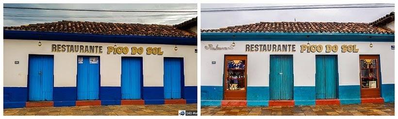 Restaurante em Catas Altas: Catas Altas e São Miguel da minissérie Se Eu Fechar os Olhos Agora. Foto do cenário: Marilane Batista/Ascom