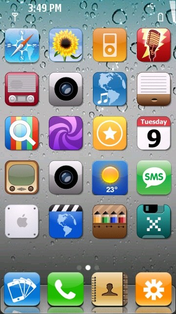 Download iphone theme for symbian belle