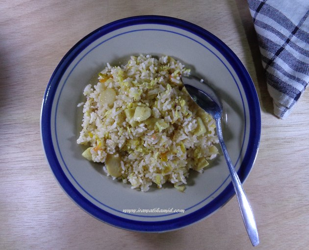 Resep Nasi Goreng Bakso Sosis