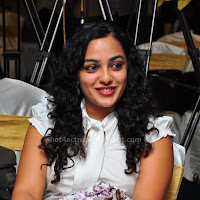 Nithya menon cute gallery in an event