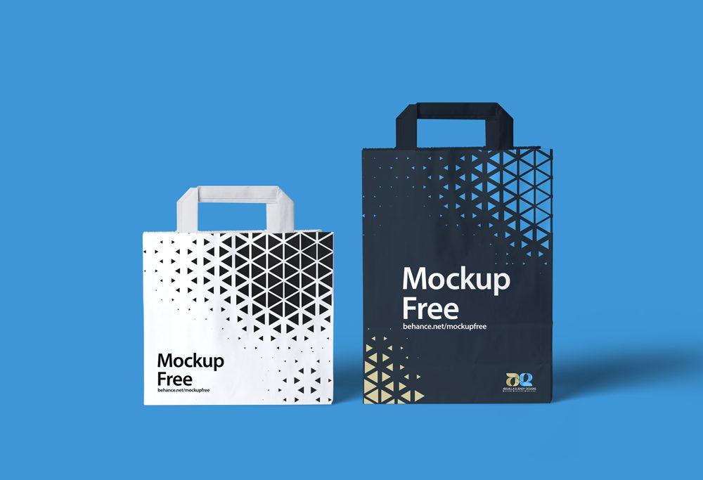 Paper Bags Mockup