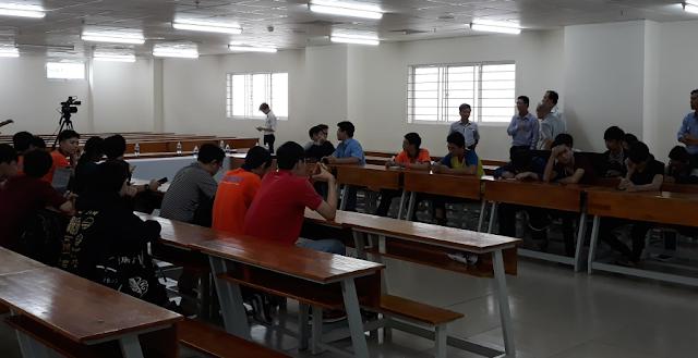 Hội thảo 'Giải mã làn sóng công nghệ với triết lý nguồn mở' tại Đại học Công nghệ TP. Hồ Chí Minh
