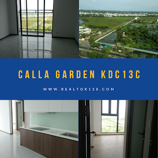 Căn hộ Calla Garden 2 phòng ngủ KDC Greenlife 13C