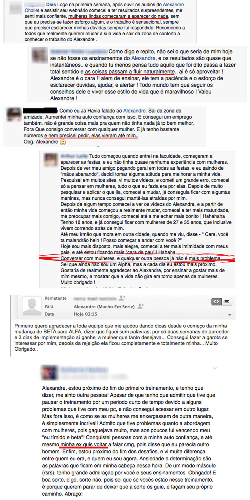 Depoimentos de Alunos que Compraram o Método Homem de Lábia - funciona mesmo!
