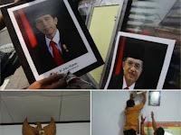 Mayor (Purn) M Saleh: Ada Apa Ini? Foto Presiden Tidak Ada Bendera Merah Putih, Hanya Ada Bendera Merah